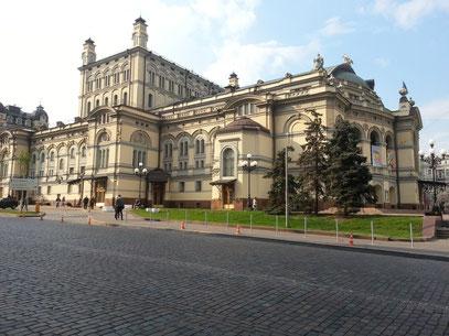 Taras-Schewtschenko-Opernhaus, eröffnet 1901