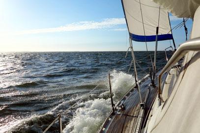 """Mit Kurs """"Hart am Wind"""" zur Insel Vlieland"""