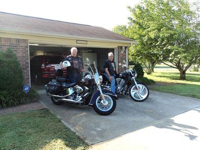 Zwei Freunde in Alabama,zur Ausfhrt bereit