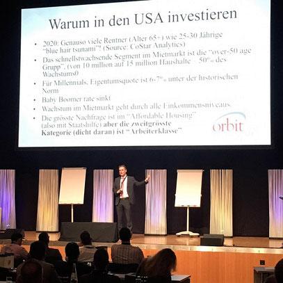 freaky finance, Immopreneur Kongress 2017, Hauptbühne, Darmstadtium, Jack Bosch auf der Bühne