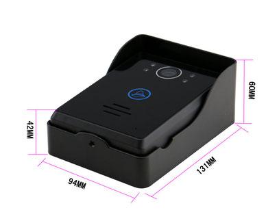 doorguard dg4700 2 innovative kamera systeme. Black Bedroom Furniture Sets. Home Design Ideas