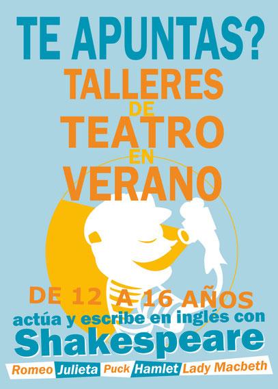 Taller Verano - Actúa y escribe con Shakespeare con Rob Dennett