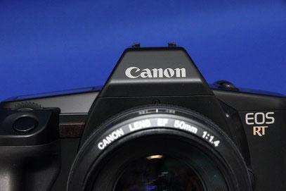 Canon EOS RT, EF50mm F1.4 USM付き