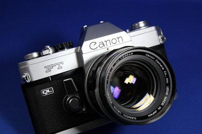 Canon FT QL (Canon FL50mm F1.4 II 付き)