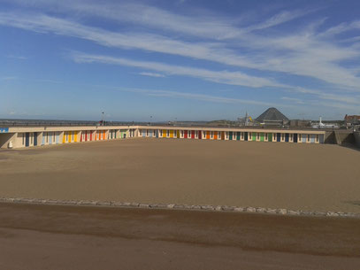 Les cabines de plage du Touquet