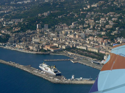 Port de Bastia+début cap Corse coté EST (40min) 85€