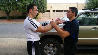 Dai Si Hing Mauricio y Gabriel en TEXAS