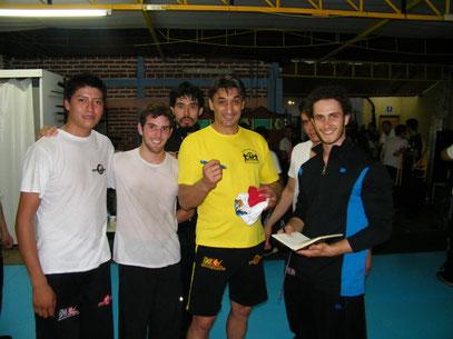 Miguel,Marco,Checo, Matthieu yDai Si Fu Emin Boztepe en Guadalajara