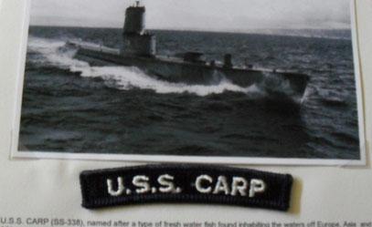 Ab und zu hakt man auch mal ein U-Boot :-)