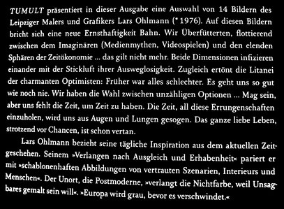 Wille und Wirkung // - Lars Ohlmann // Malerei