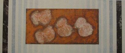 "Nr. 2007-HO-014: 80 x 30/ 40 x 20 cm, Acryl auf MDF/ Pappe ""Malmaschine"""