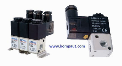 Kompaut, Elettrovalvole Airtac a comando diretto serie 3V1