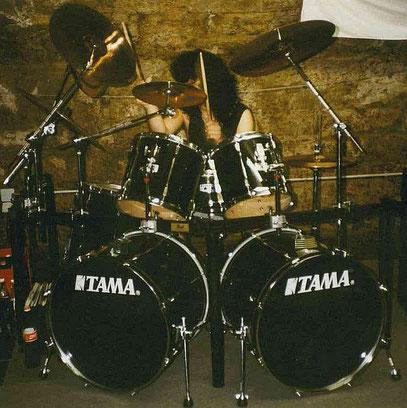 TAMA - Rockstar - schwarz / Folie 1992 - 1993
