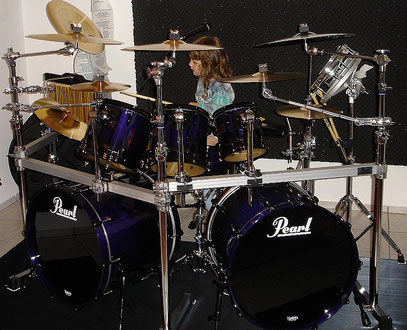 PEARL MMP Midnight Fade - Black Hardware 2007 - 2009