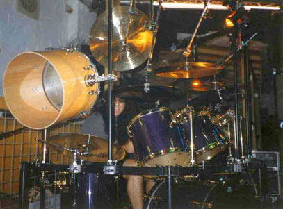 PEARL - MMX - Purple Mist / Lack mit Goldhardware 1997 - 1999