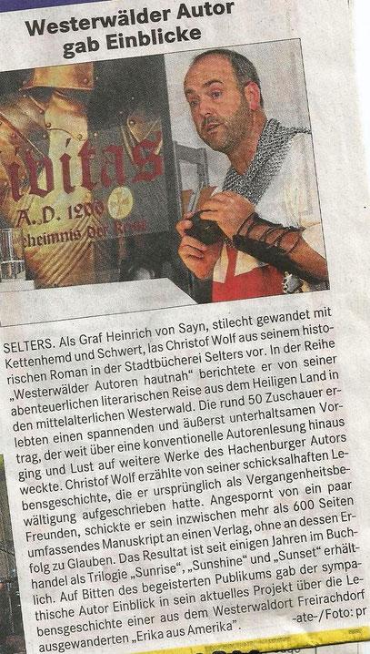 Westerwaldpost 7.8.2013