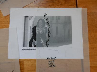 Lettering im Plakat