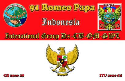 Nuova QSL della 91 presto in attivazione dall'isola di Lombok