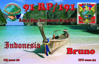 Nuova QSL 91RP/191 Bruno