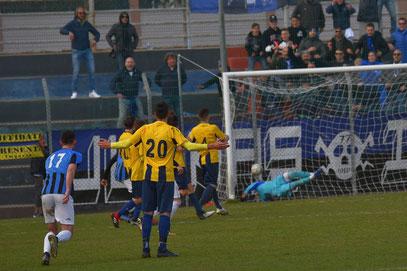 93' il gol vittoria di Giglio