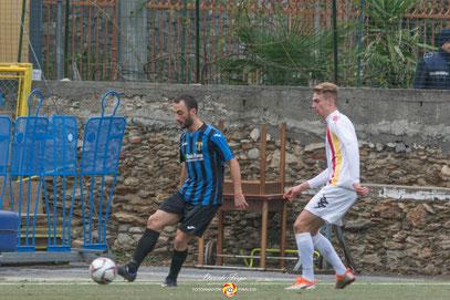 Giglio, autore del gol del 0-1