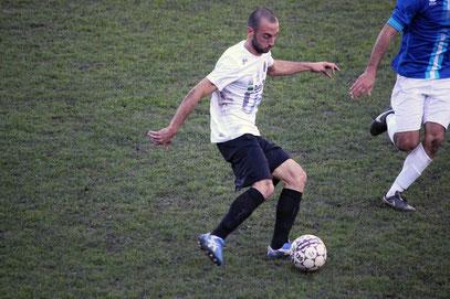 Giglio, autore del gol del 1-2