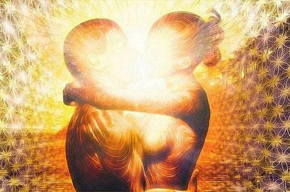O Coeur du Present - Flammes Jumelles - cedric chaineau
