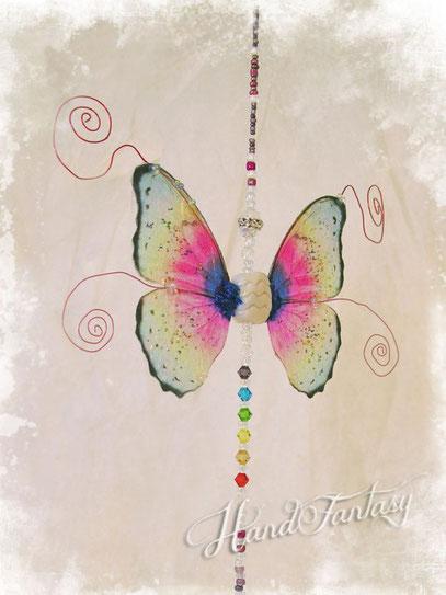 Móvil-colgante Fengshui de Mariposa