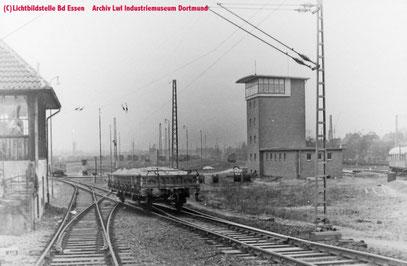 Ablaufbetrieb am Südberg im Rbf Duisburg Wedau
