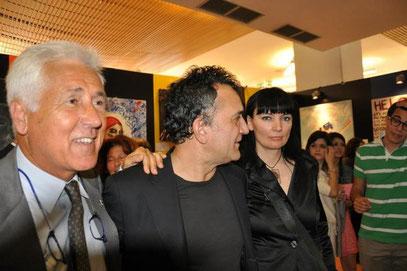 con Marco Del Gaiso e Lello Esposito