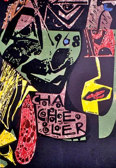 1968 Litho von Ruth Margraf
