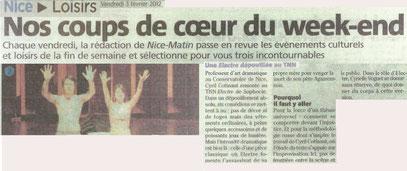 Nice Matin - 03.02.2012