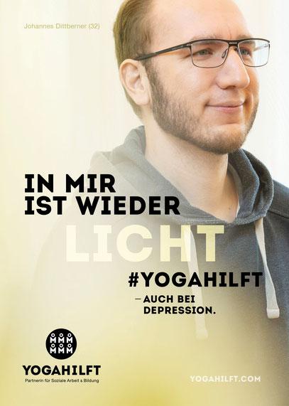 #yogahilft, Yoga bei psychischen Erkrankungen