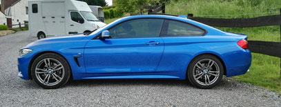 Bmw Serie 4 coupé By Sos vitres teintées
