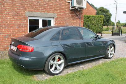 Audi A4 vitres teintées a 80%