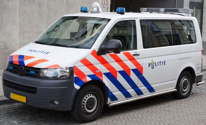 dutch police van