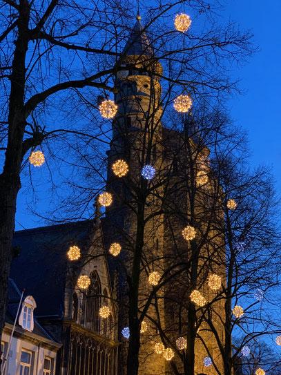 Zo gezellig die lichtjes, ook in januari!