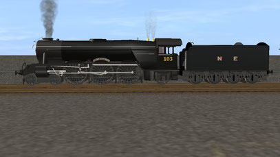 Wartime NE Black 103/ 502 Flying Scotsman