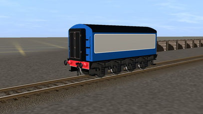 Flying Scotsman Second Tender in BR Blue and Grey Livery