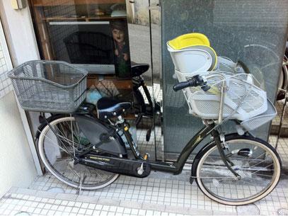 アンジェリーノ子供乗せ自転車