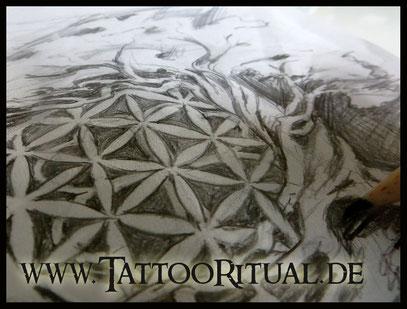Tattoovorlage - Zeichnung von TattooRitual