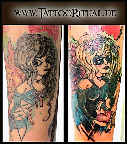 Tattoo Cover UP Hangelenk