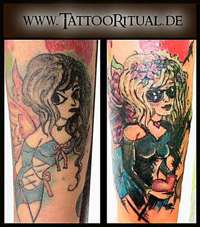 Tattoo Cover UP Hangelenk