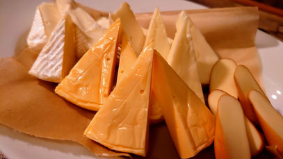 チーズ盛り合わせ ¥900