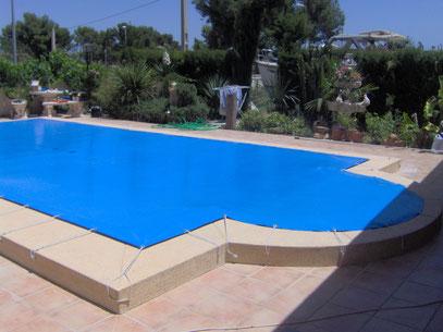 lonas y cobertores en pvc para piscinas m2 tlf