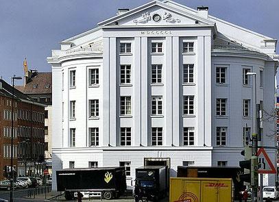 Rückseite des Aachener Theaters wurde 1825 eröffnet