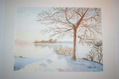 Wintermorgen / Ingrid Achleitner
