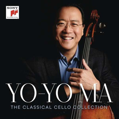 "Yo-Yo Ma - The Classical Cello Collection  (15 CDs) - Aktueller Preis 39,95 EUR plus 1 Flasche Wein ""Anciens Temps"""