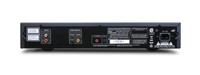 NAD CD-Player C 568 Rückseite (Bild anklicken)