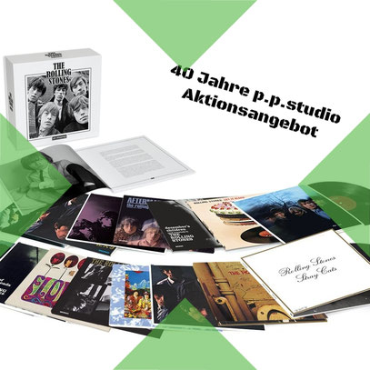 Rolling Stones in Mono - 16 LP Box Limited Edition zum p.p.studio Jubiläumspreis